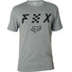 Fox Scrubbed Airline Short Sleeve T-Shirt Men heather dark grey